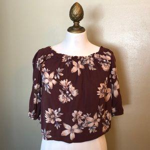 Wmns off shoulder blouse